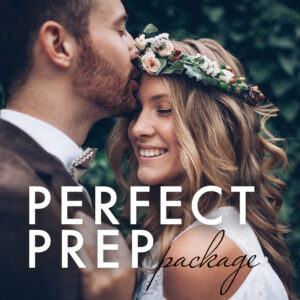 happy couple bridal packages